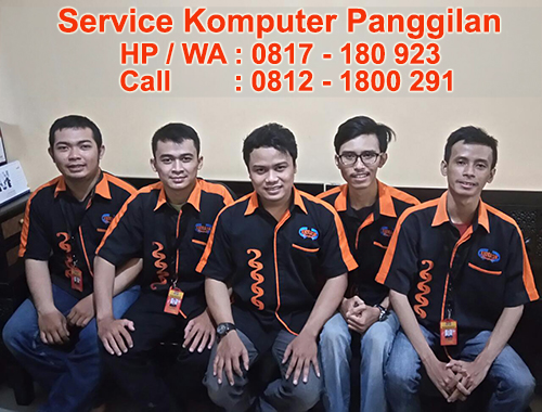 Jasa Service Komputer Panggilan di Harapan Indah Medan Satria Bekasi